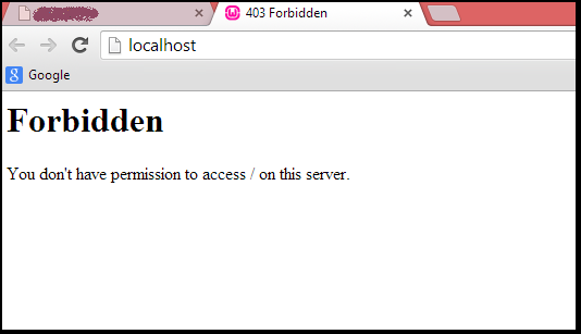 Have A Look At A Guide To Fix 403 Forbidden Permission Error In Phpmyadmin Phpmyadmin Mysql Php Solving Server Error Message
