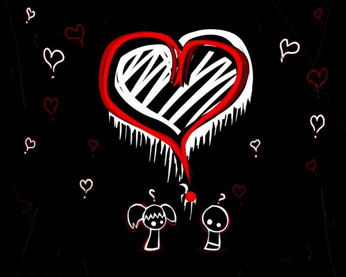 Pin By Ash Hall On My Dream Love 3 Cute Love Wallpapers Emo Love Emo Wallpaper