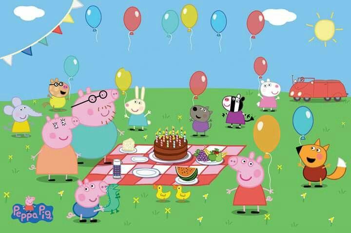 Filmes Infantis, Festa Peppa Pig, Desenho Animado, Idéias De Festa, Ideias  Para Festas, Convites, Mesinhas, Gostar, Coisas