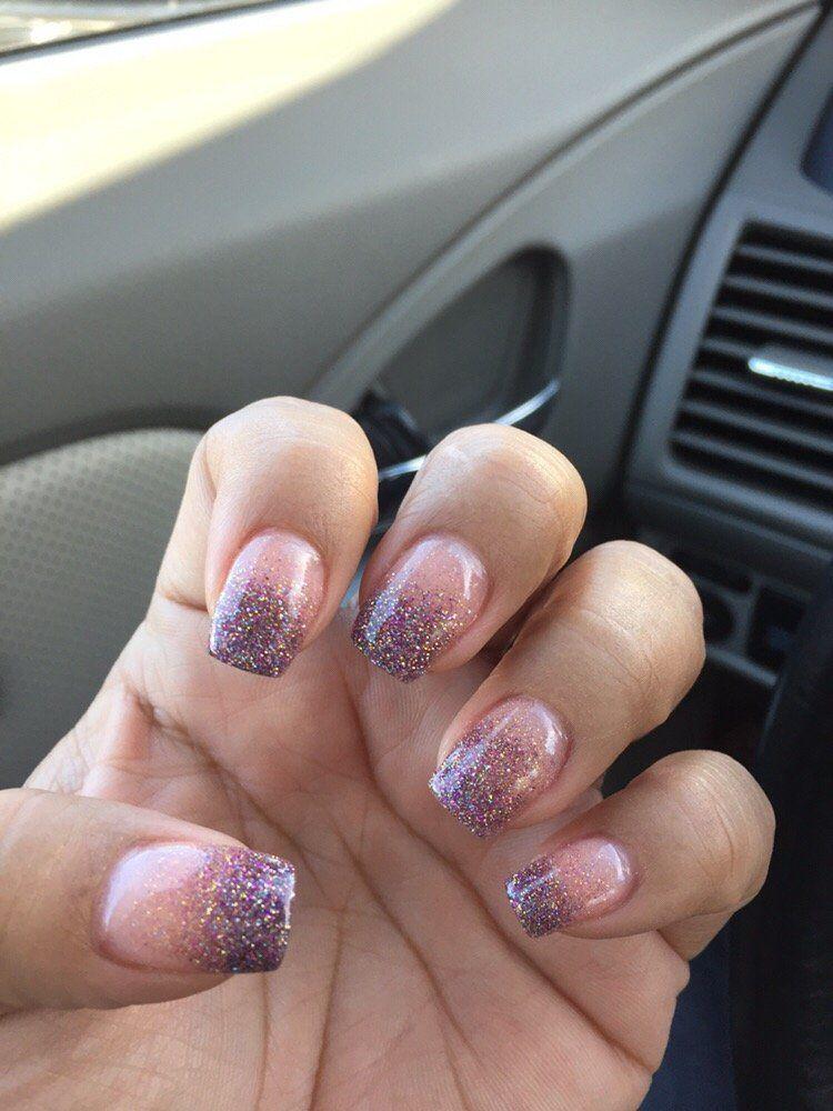"Elegant Touch Nails & Spa - Glendora, CA, United States. Healthy and natural nails! The whole process is ""dipping"". No UV light, no primer, no liquid!"