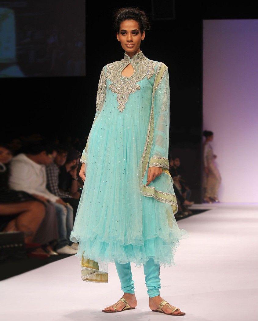 Turquoise Blue Anarkali Suit | outfits | Pinterest | Anarkali suits ...