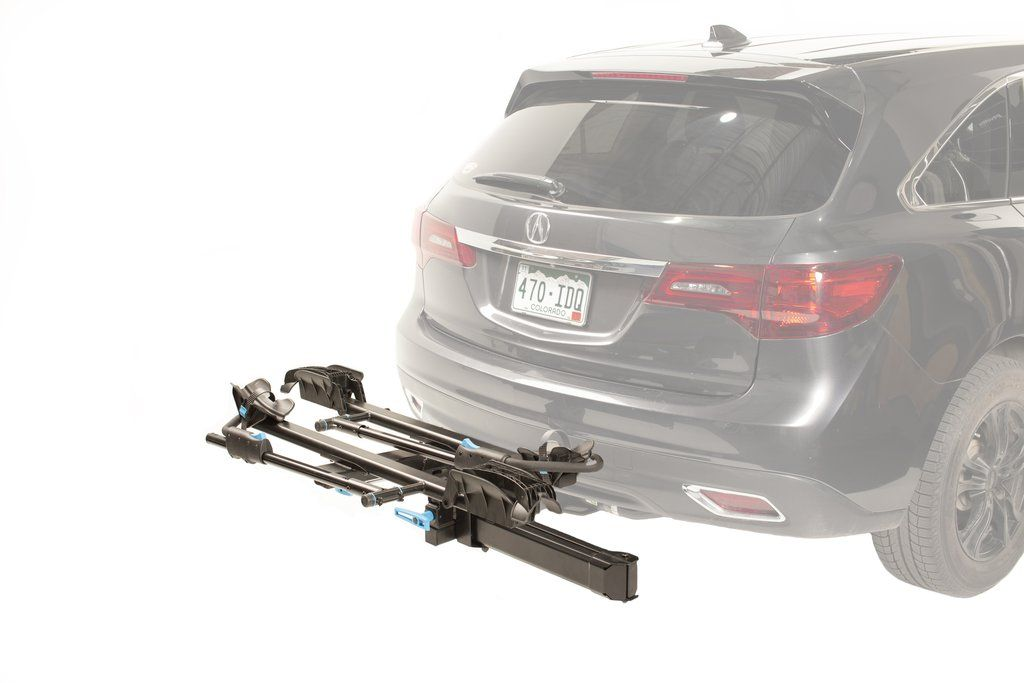 Backstage hitch rack bike tire hitch extension