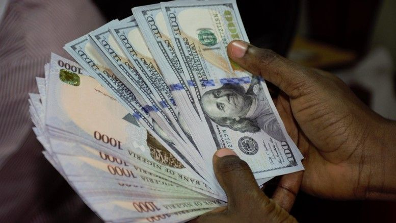 what is the value of dollar to naira today