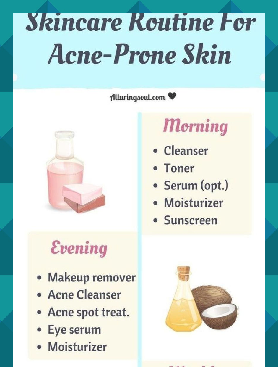 Quit Acne Using Natural Skin Care Guide For Acne Prone Skin And Give Your Skin Nutritional Food Th Dry Acne Prone Skin Moisturizing Serum Sunscreen Moisturizer