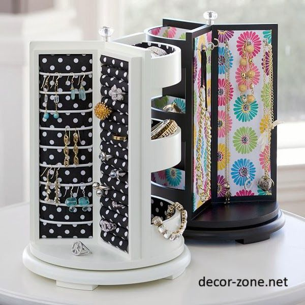 creative jewelry storage ideas jewelry box Crafts Pinterest