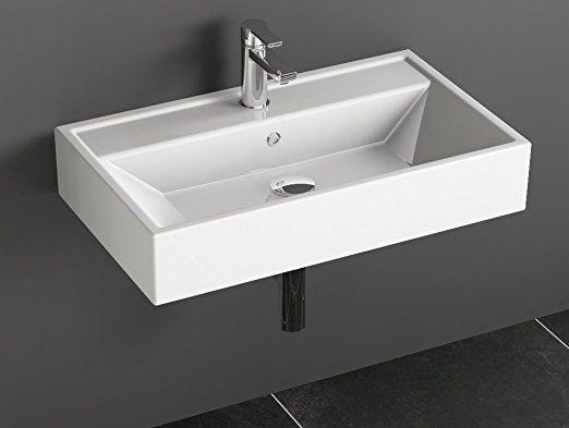 Aqua Bagno Ks 70 A Design Waschbecken Aufsatzbecken 70x42cm