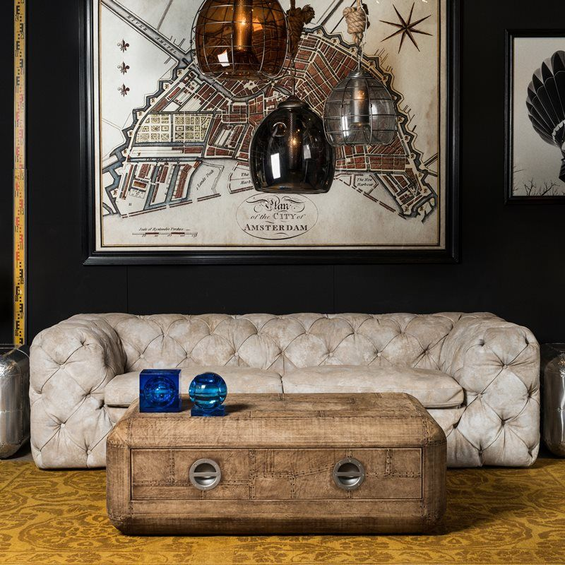 Leather Sofa - Bayswater | Timothy Oulton | Power House | Pinterest