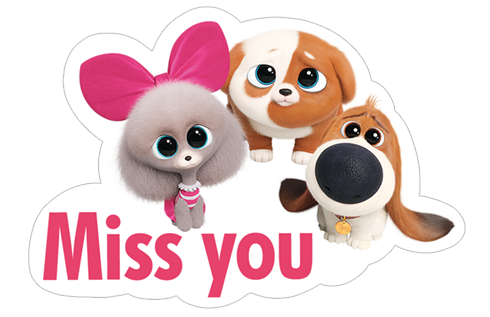 Free Download The Secret Life Of Pets 2 Stickers Viber Sticker 10 Secret Life Of Pets Pets Secret Life