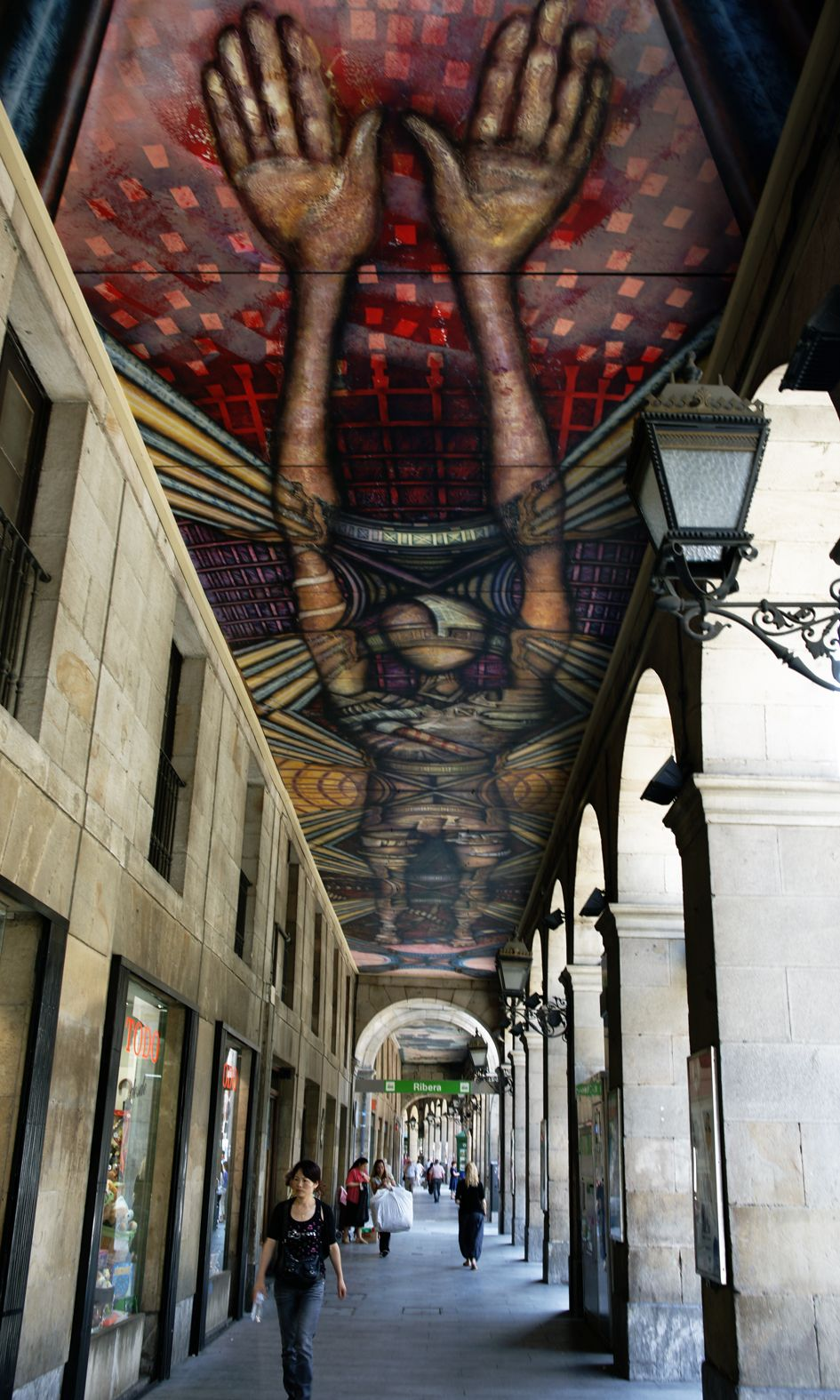 Awesome Street Art in Bilbao, beautiful photo by Wilma de Groot ~~ Houston Foodlovers Book Club
