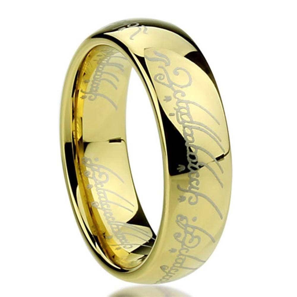 4 Beste Sammlung von Herr Der Ringe Trauringe #Verlobungsringe