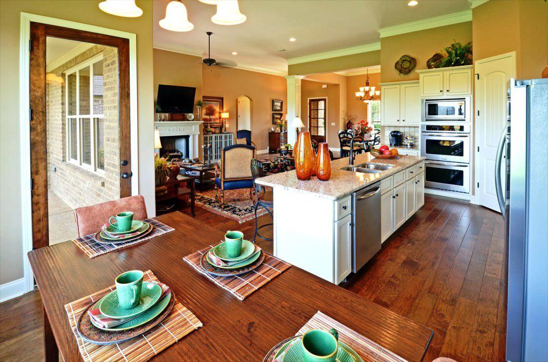 Bungalow Open Concept Floor Plans Functional Open Concept Floor Plans All In O Small House Open Floor Plan Open Kitchen And Living Room Kitchen Floor Plans