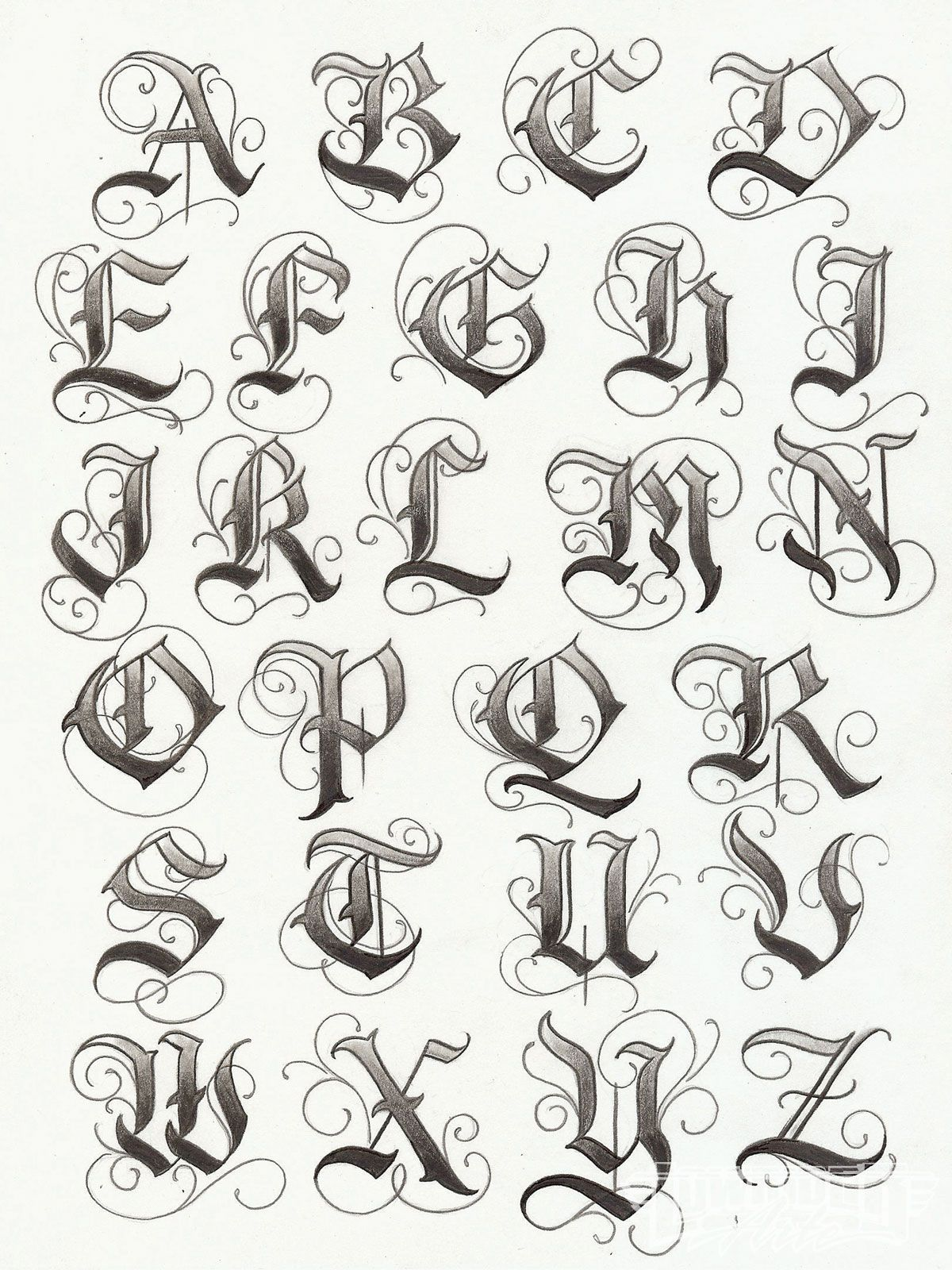 Tattoo Lettering Pinteres
