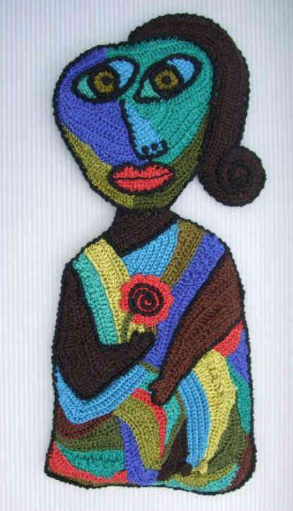 Astonishing Freeform Crochet Art Inspired by Music and Art ...