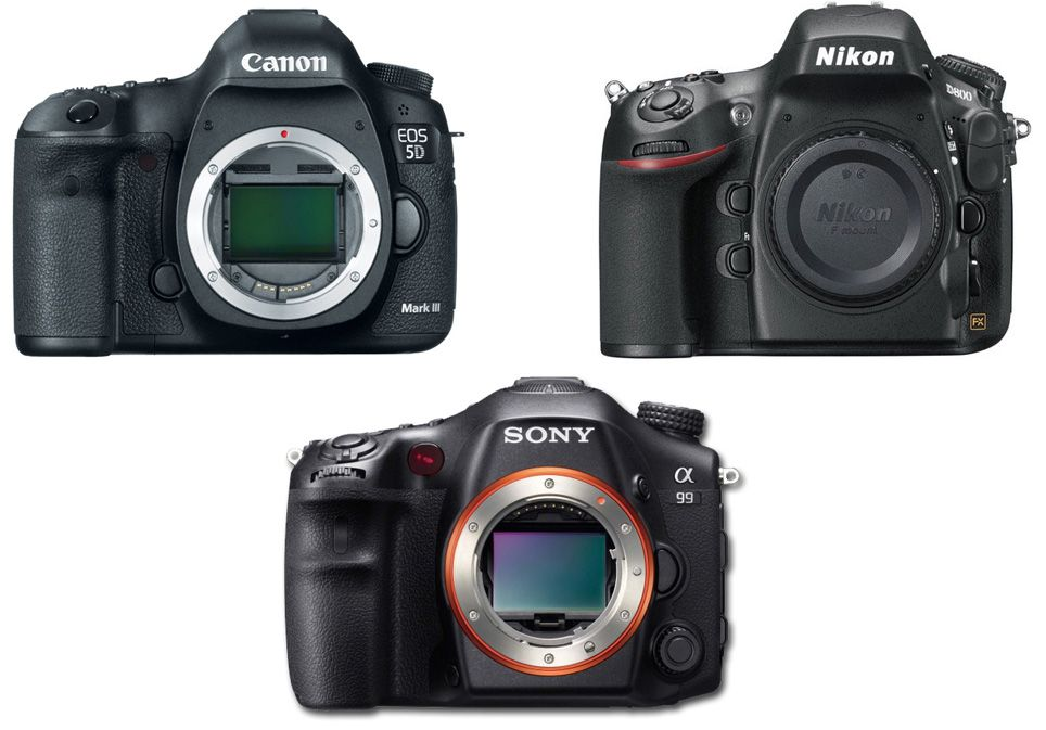 Here is a full specs comparison for three best full frame DSLRs in ...