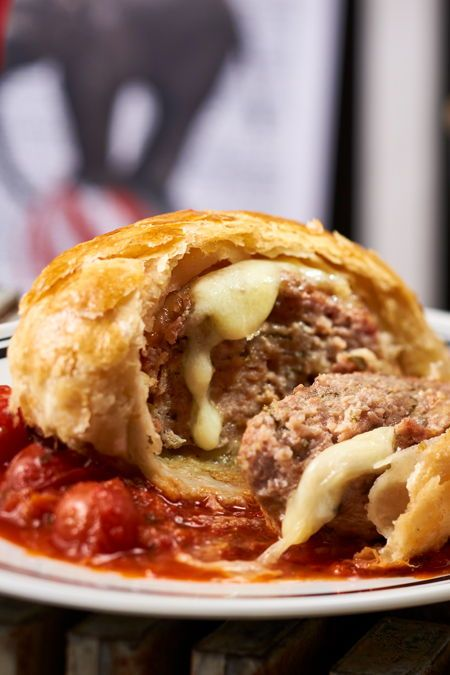 Photo of Puff Pastry Meatballs with Tomato Sauce Recipe DELICIOUS