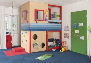 #Hochbett Für #Kinder Oder #Spielparadies Und #Kuschelecke Aus #Holz