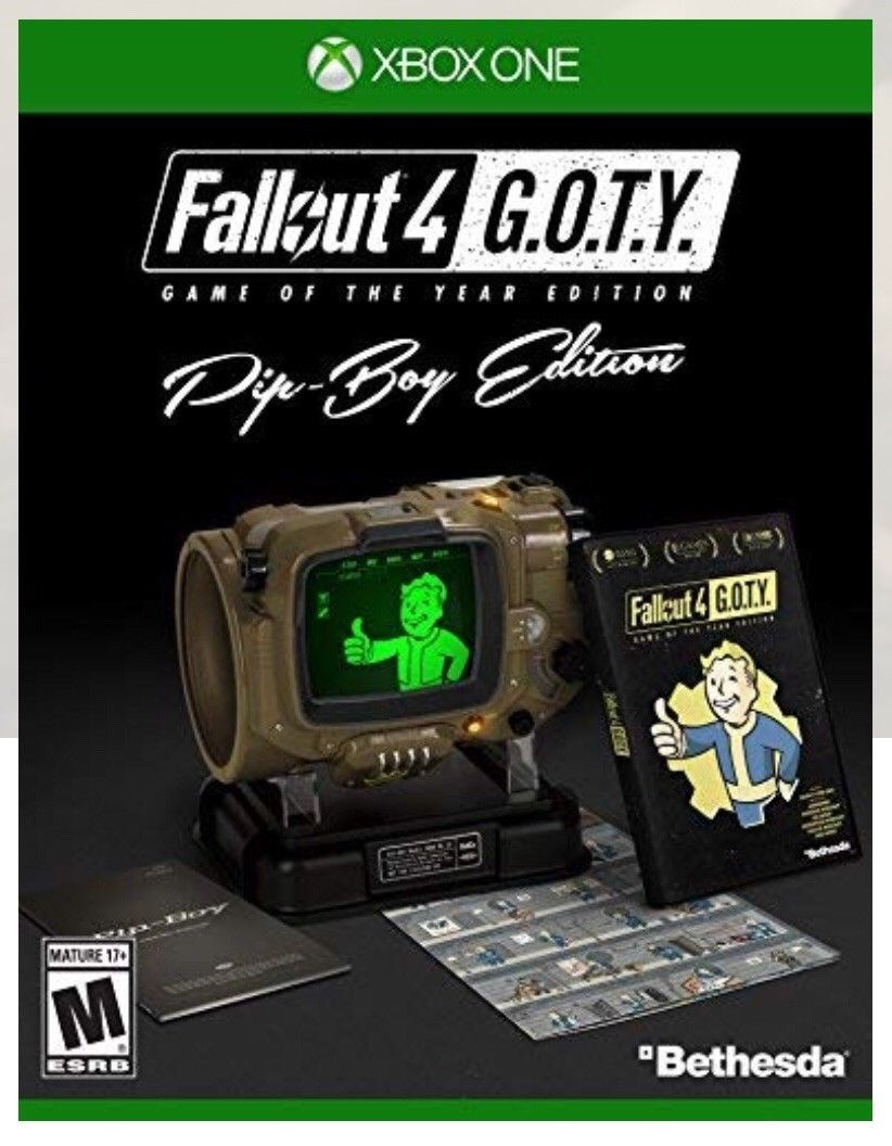 Details about Fallout 4 Game of the Year Edition w/All 6 Add
