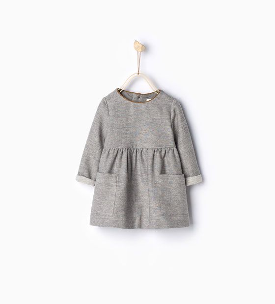 ZARA - KIDS - Dress with piped neckline | my little one <3 ...