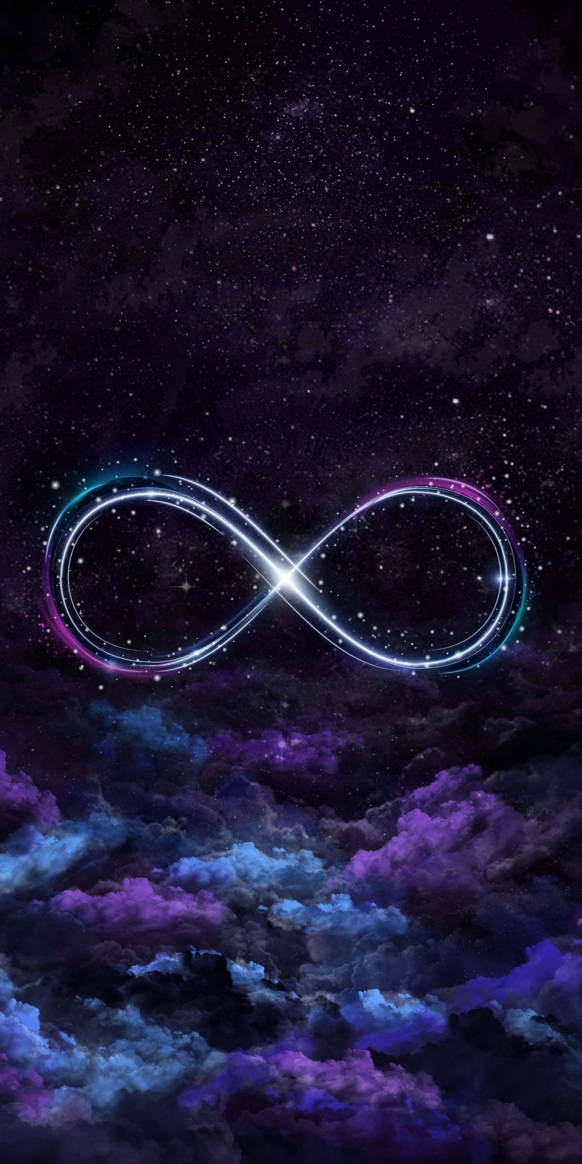 From The Ashes With The Infinity Symbol Instead Of A Pheonix Unicorn Wallpaper Cute Unicorn Wallpaper Galaxy Wallpaper