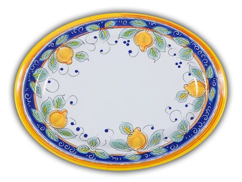 Italian Heavy Duty Melamine Lemons Design Serving Platter  sc 1 st  Pinterest & Italian Heavy Duty Melamine Lemons Design Serving Platter ...