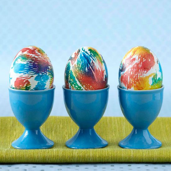 Creative Ways to Dye Easter Eggs  Easter eggs Eggs and Paper towels
