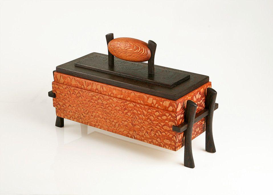Asian box jewelry style