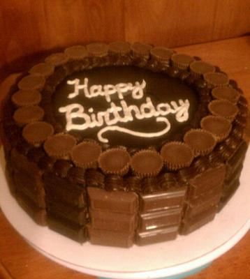 I made this cake for my grandads 85th birthday He loves chocolate