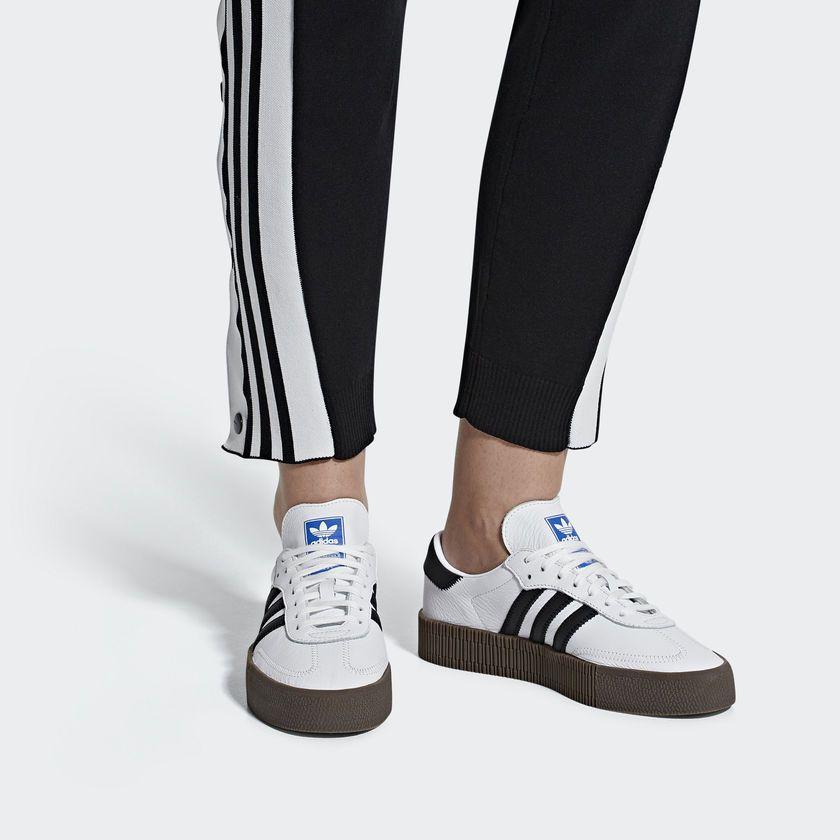 the latest d5fb2 353ad adidas SAMBAROSE Shoes - White   adidas US