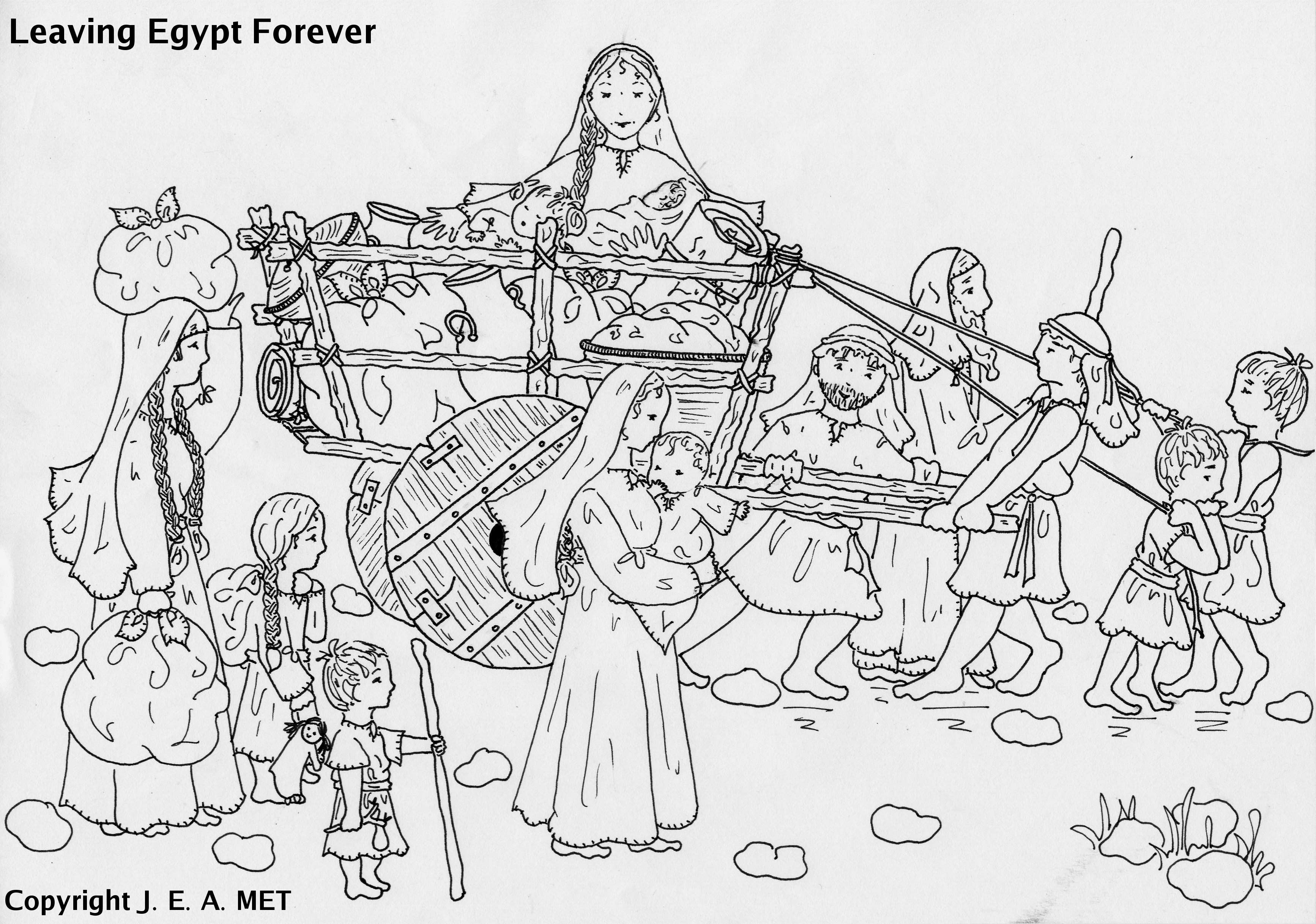 The Exodus Children 39 S Church Coloring Pages Inspirational