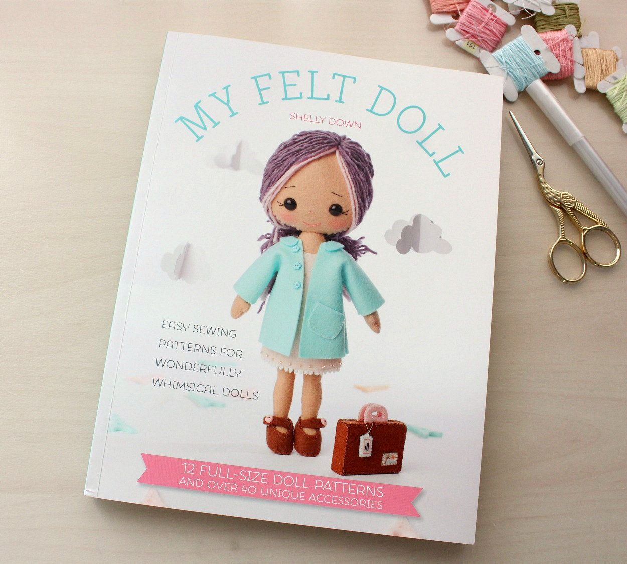Books on felt crafts - Limited Stock My Felt Doll Craft Book