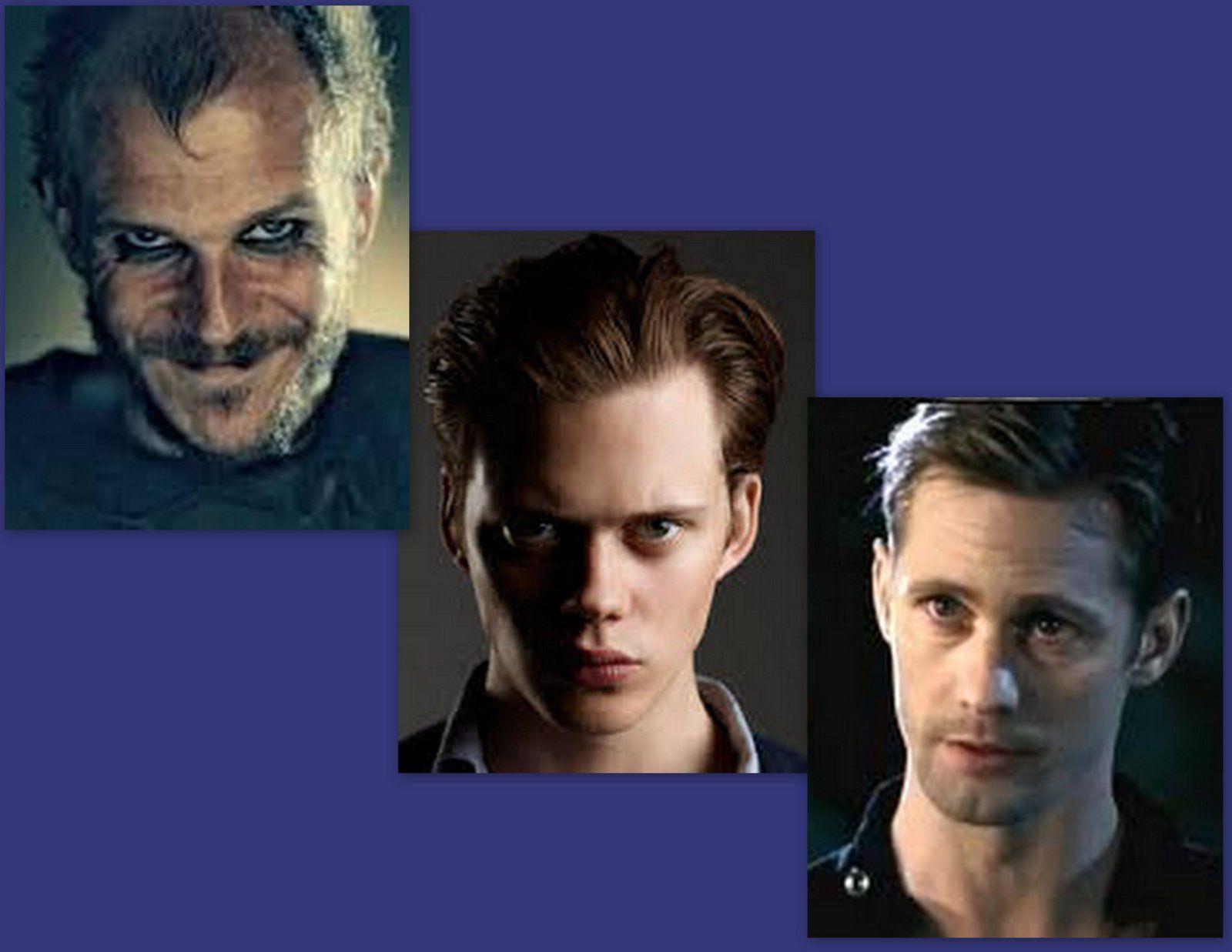 A Viking, a Vampire, & a Viking Vampire - the Skarsgard Brothers - Gustaf (Vikings), Bill (Hemlock Grove), & Alexander (True Blood)