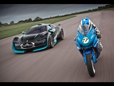 Electric Car Vs Bike Citroen Survolt Vs Agni Z2 Cars Bugatti