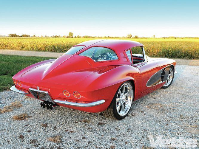1961 Corvette Split Window Splitting The Difference 1961