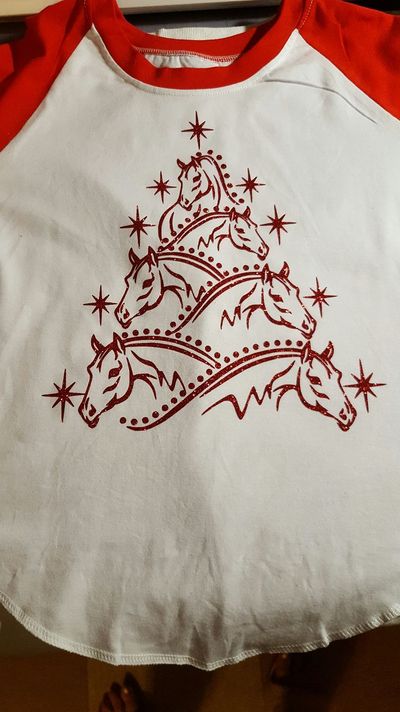 Horse Christmas Tree Svg Cuttable Design Cricut Christmas Ideas Christmas Shirts Vinyl Christmas Horses
