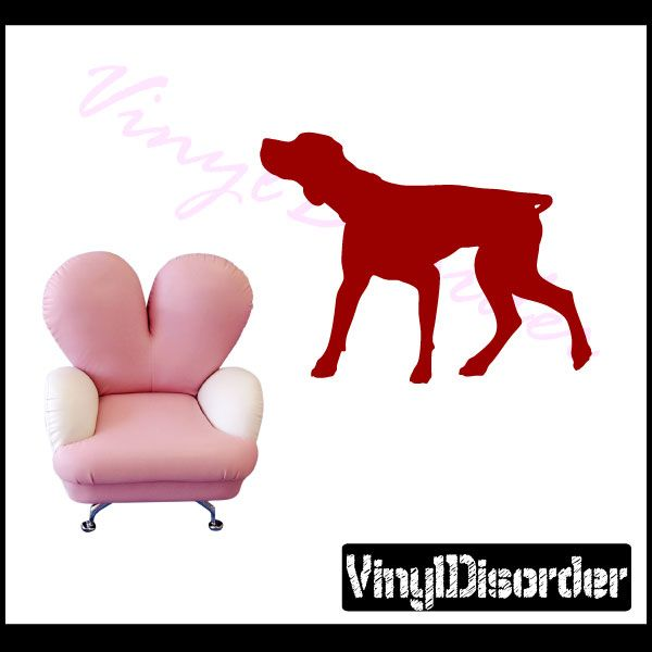 Coonhound Dog Wall Decal - Vinyl Decal - Car Decal - NS004