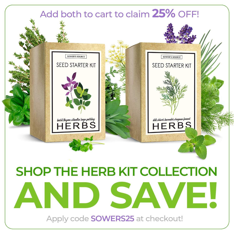Herb Garden Starter Kit (Indoor) Natural >>> See this