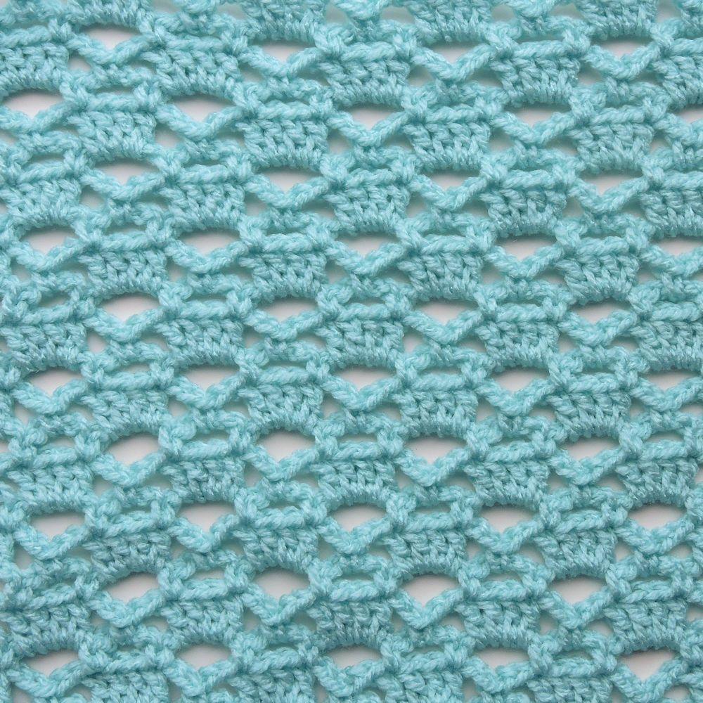 Lattice Trilogy Free Crochet Stitch Tutorial #crochetstitchestutorial