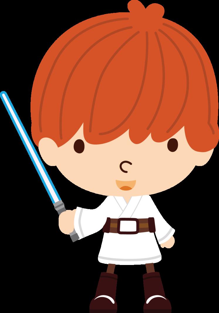 Chibi Luke Skywalker Personagens Chibi Star Wars Personagens Bonecos Star Wars