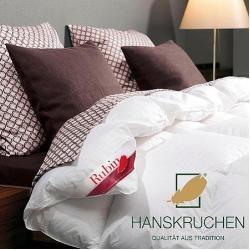 Photo of Gänsedaunenbettdecke Rubin Hanskruchen leicht Füllung: 100% Gänsedaunen Bezug: 100% Baumwolle Hanskr