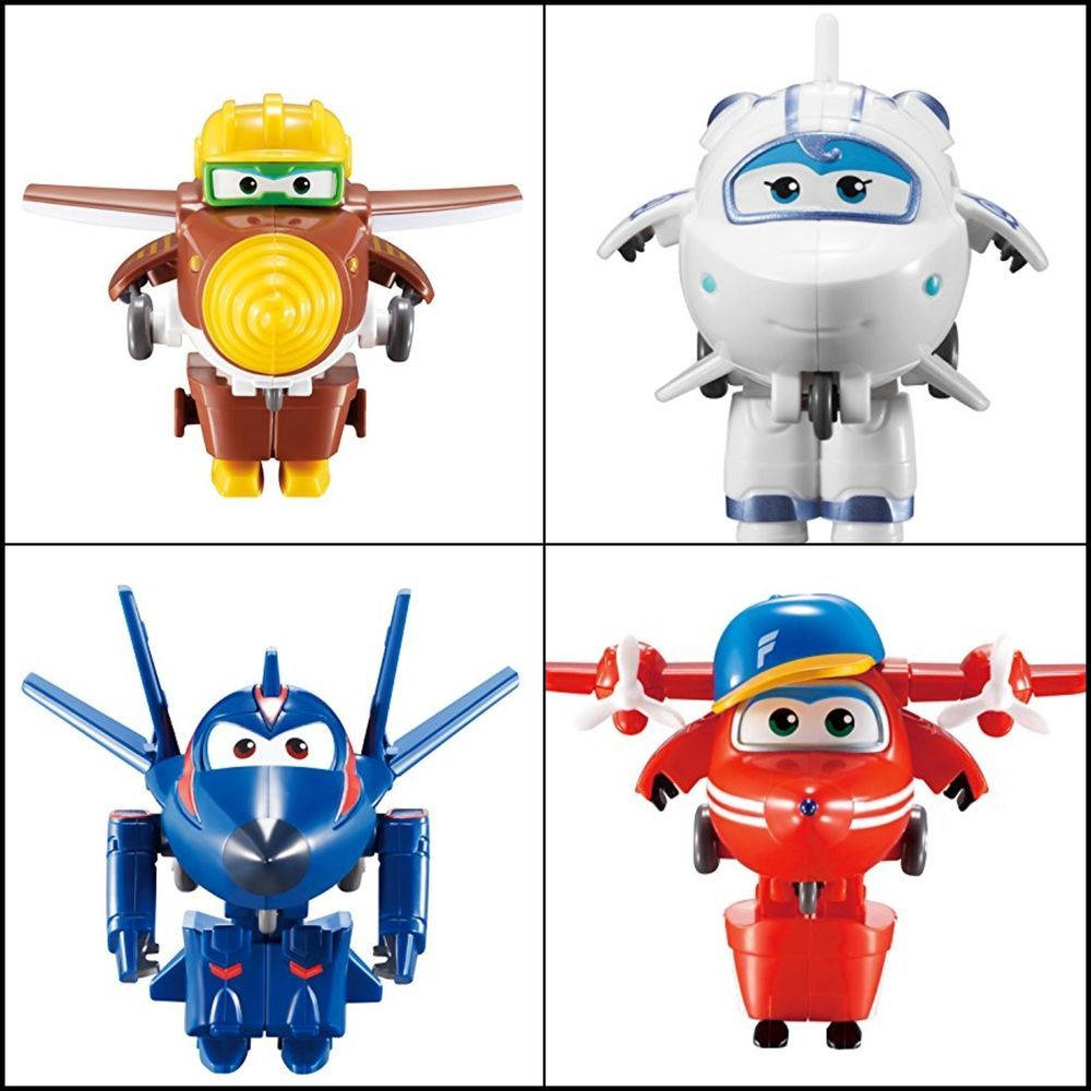 Super Wings Series 2  Transform a bots  Astra  2 Transforming Figure