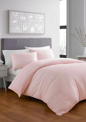 City Scene  Penelope Duvet Set - Open Lt-Pastel Pink - Full/Queen #bedroomidea