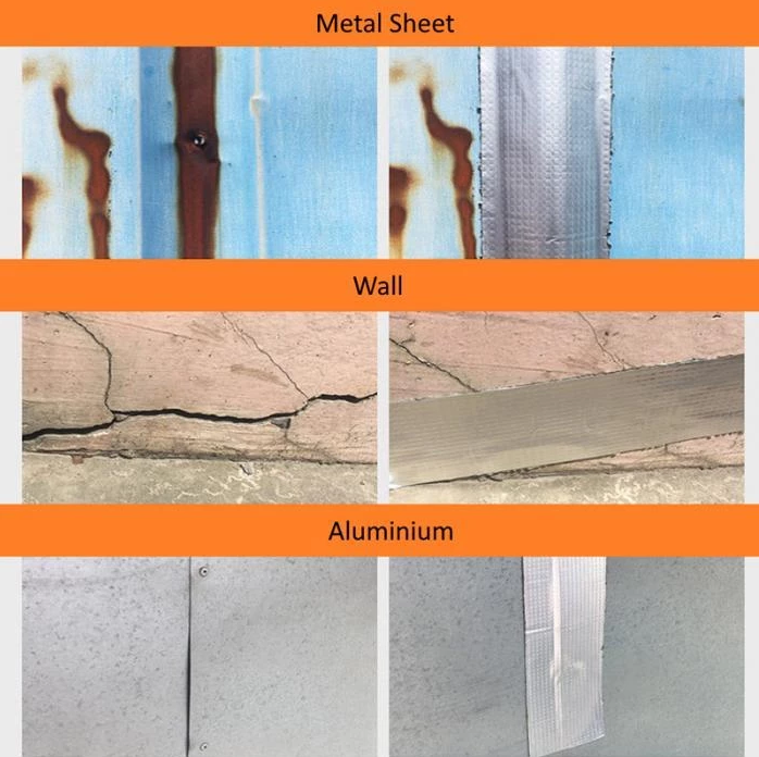 Aluminum Foil Butyl Waterproof Tape 1mm Thick Cccinlife Com In 2020 Waterproof Tape Repair Tape Foil Tape