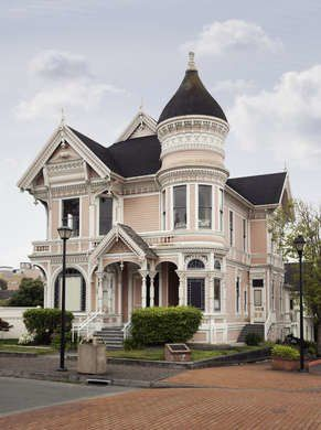 Pink victorian house also homes we love cool houses pinterest rh