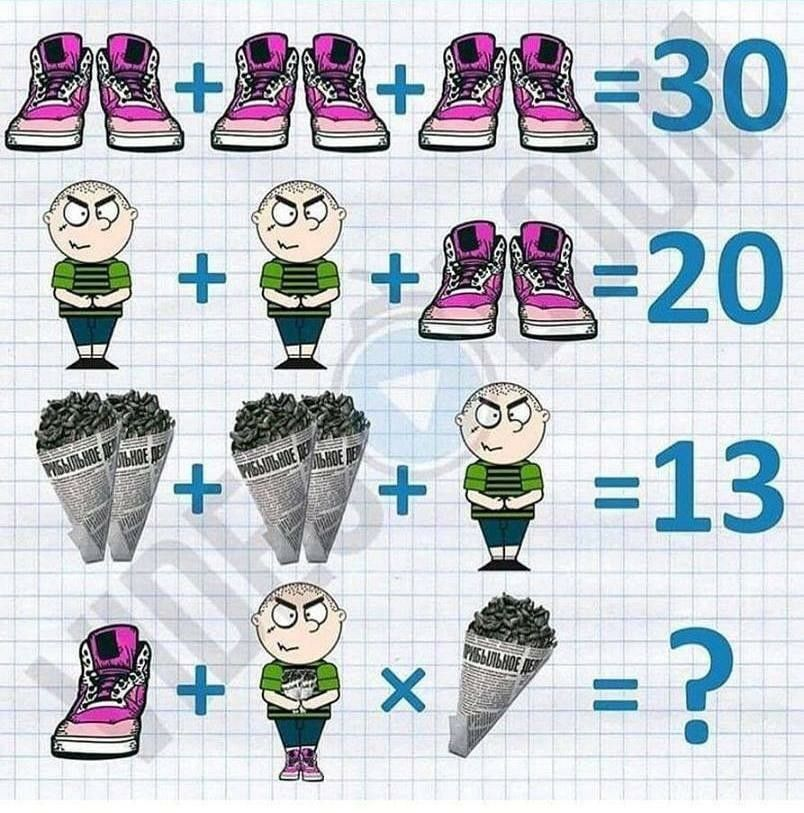 Pin by o Rapha o on 數學math (With images) Math riddles