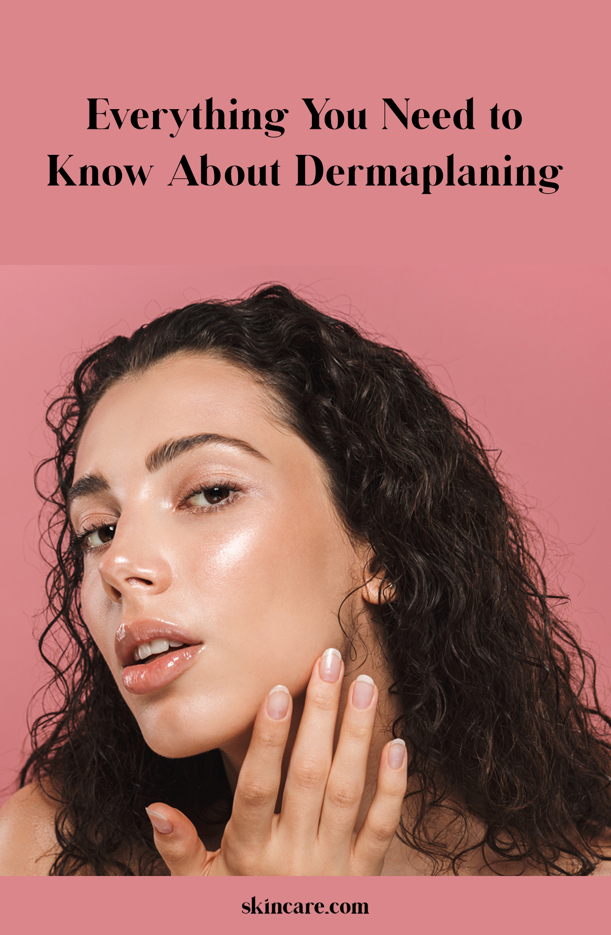 Shaving Face What Is Dermaplaning? in 2020 Oily skin