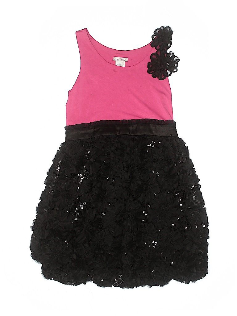 Sally Miller Special Occasion Dress: Pink Solid Skirts & Dresses - Used - Size 10