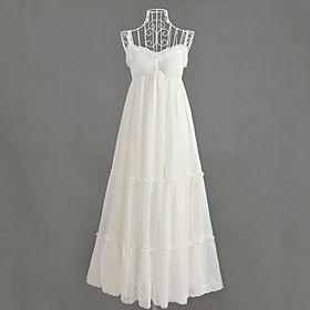 Women's Maxi Micro-elastic Sleeveless Maxi Dress (Chiffon)
