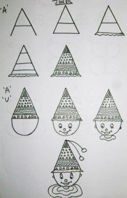 How To Teach Kids To Draw Using The Alphabet Very Easy Drawing Alphabet Drawing Basic Drawing For Kids