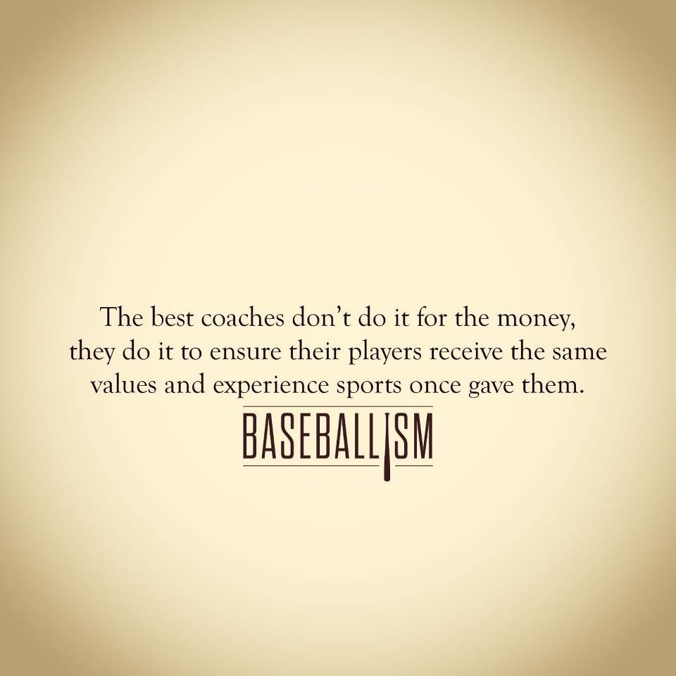 Baseball Coach Thank Y... Inspirational Quotes For Softball Players