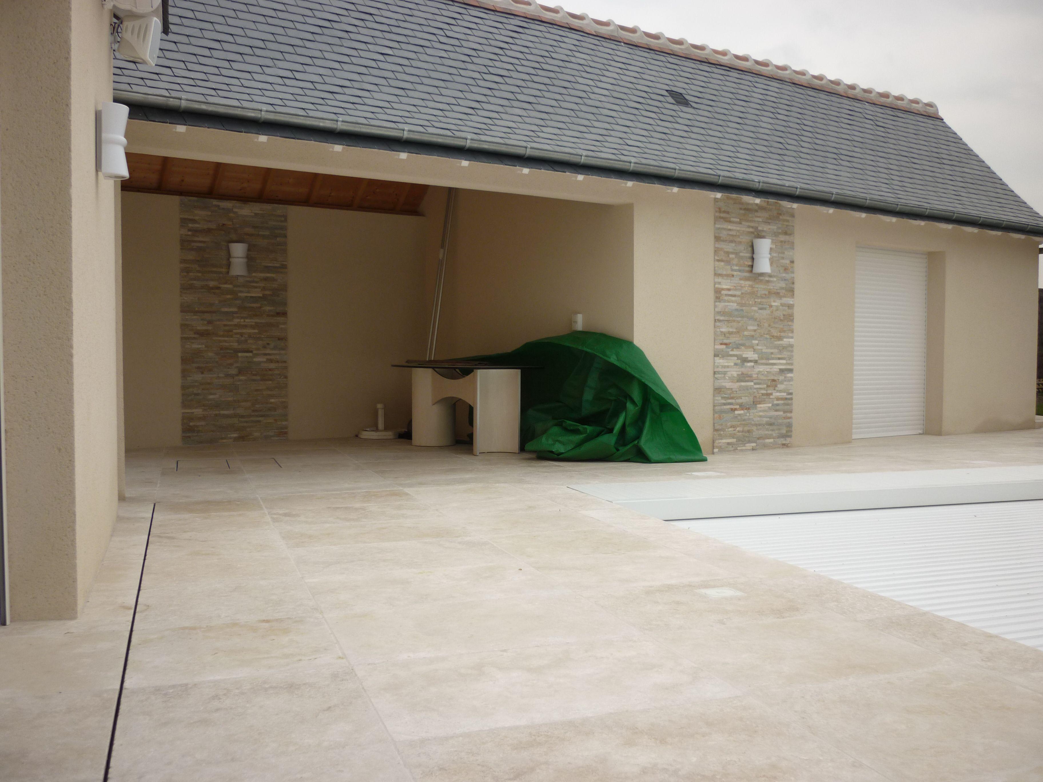Marmol travertino avellana nuevos formatos para bordes de - Pavimentos de marmol ...